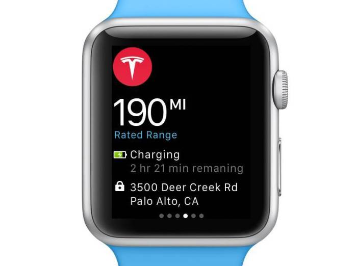 tesla apple watch notifiche Innovazione in ogni interazione con lApple Watch