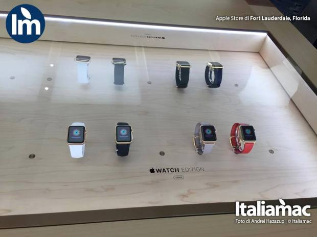apple store florida macbook apple watch 01 620x465 Foto di Apple Watch e nuovo MacBook allApple Store di Fort Lauderdale, Florida (USA)