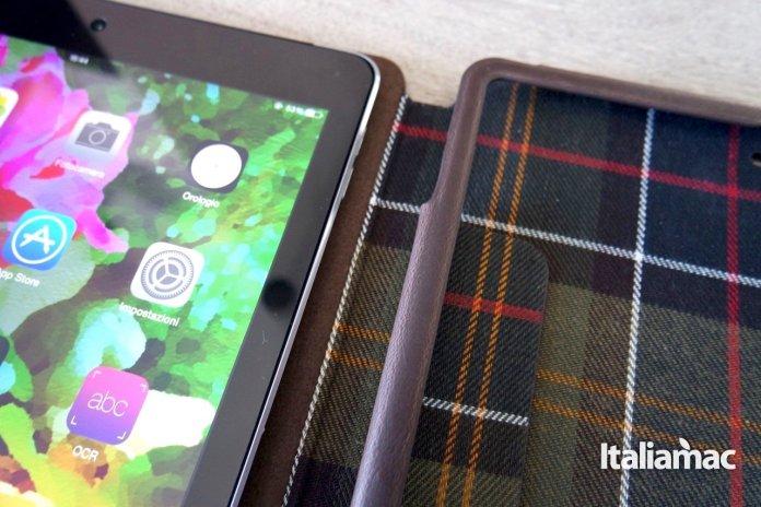 barbour33 Proporta confeziona la Cover Folio Barbour in ecopelle per iPad Air 2