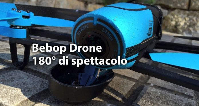 bebop drone Parrot Bebop Drone, riprese aeree a 180° in Full HD