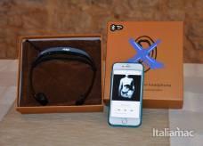 %name Cuffia audio bluetooth D Mail a conduzione ossea, la nostra recensione