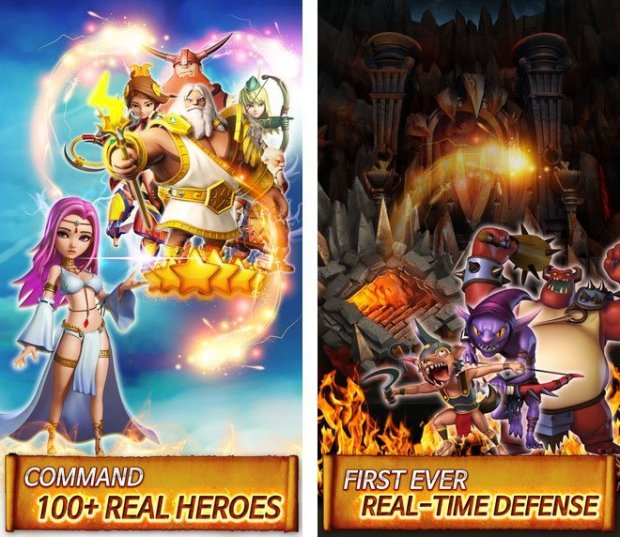 hero sky 2 620x537 Hero Sky: Epic Guild Wars, disponibile il gioco RPG per iOS e Android