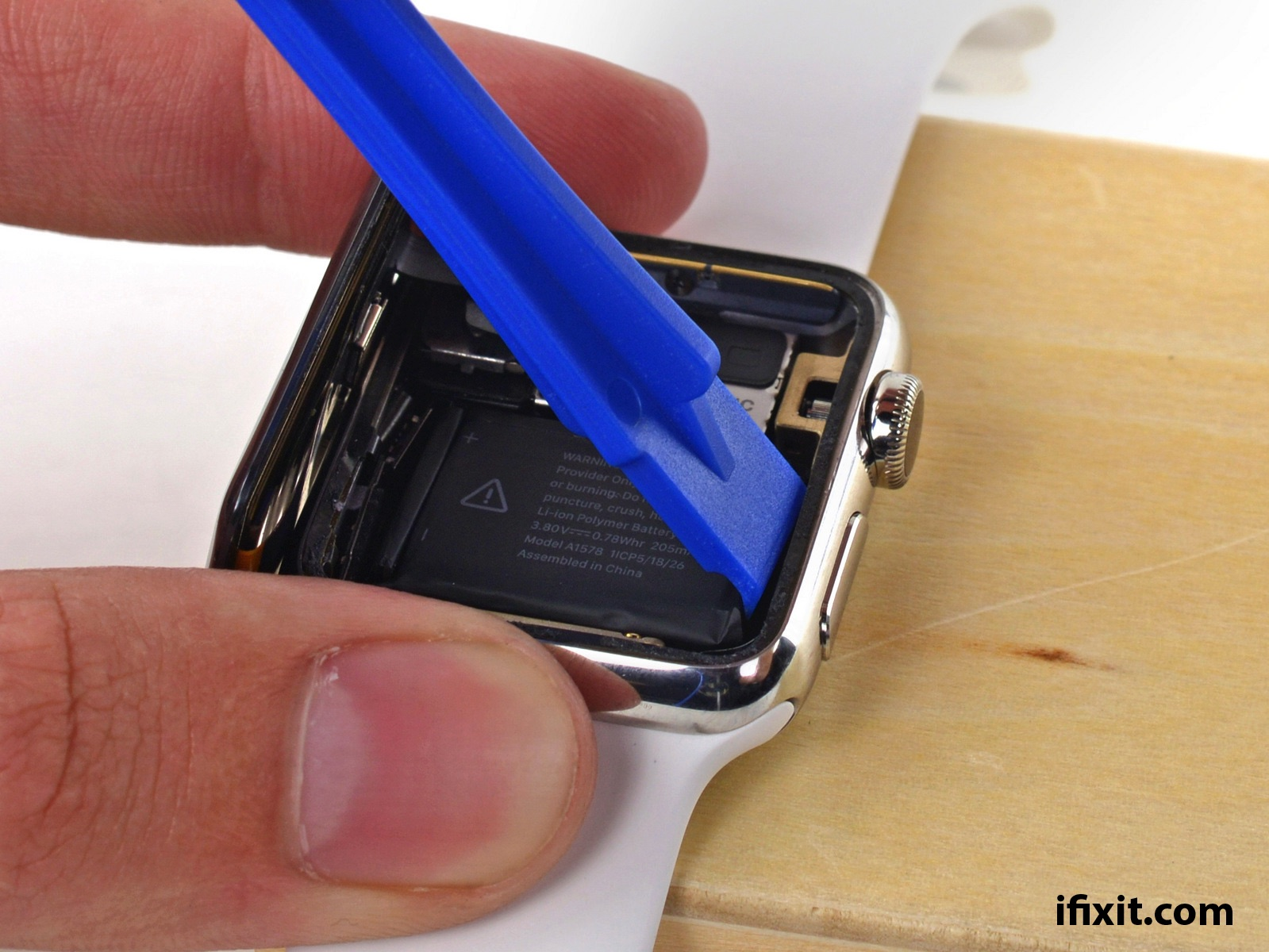 Apple Watch all'interno