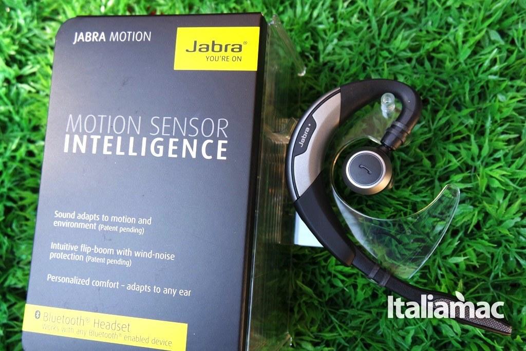 %name Jabra Motion, auricolare bluetooth con tecnologia NFC e comandi vocali