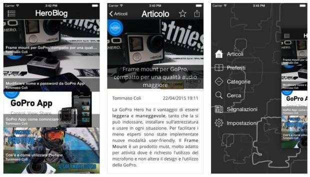 heroblog app 620x355 HeroBlog, tutto sul mondo GoPro e action cam