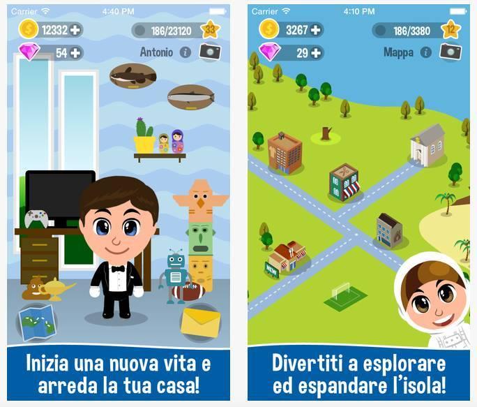 humyapp Humy, un gioco per iPhone che ti permetterà di iniziare una nuova vita!