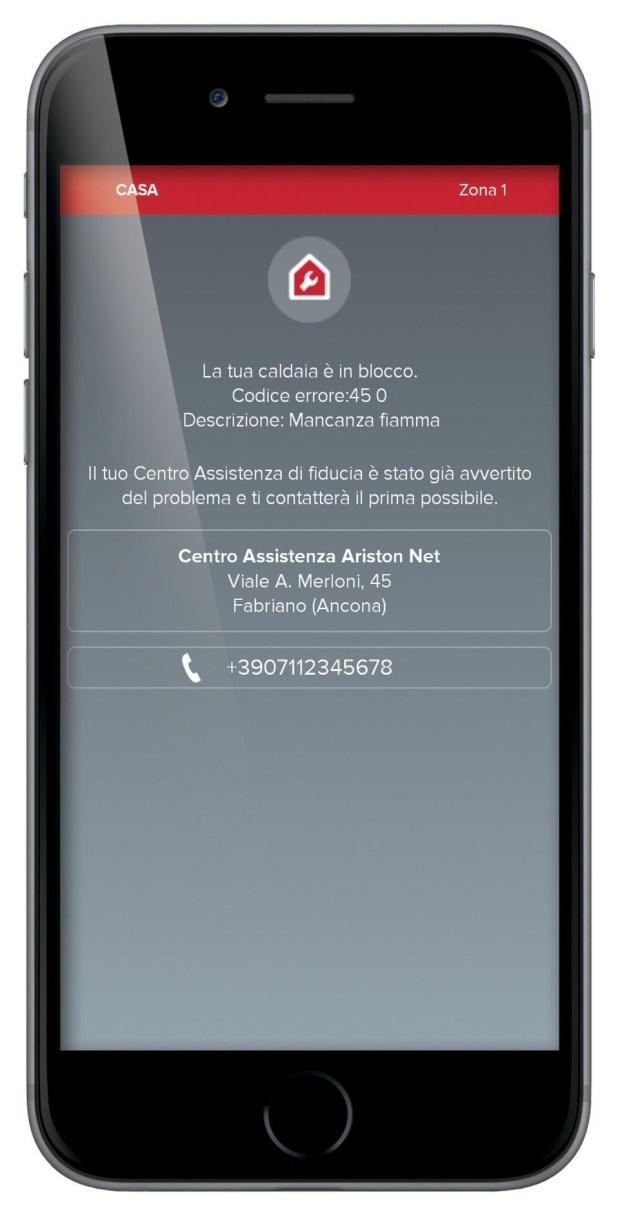 notifica al cat 620x1215 Con Ariston NET l'impianto di riscaldamento è a portata di smartphone