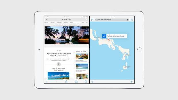 split view multitasking 620x349 Apple annuncia iOS 9 al WWDC 2015