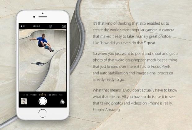nothing like iphone 2 620x422 Perché non cè niente di simile ad un iPhone la nuova web campagna Apple