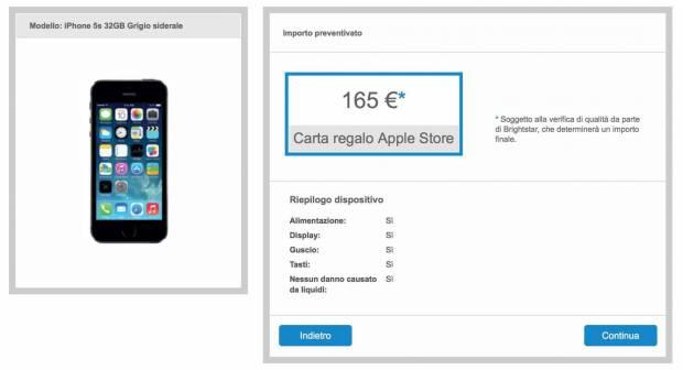 schermata 2015 07 23 alle 19.27.42 620x336 Programma Riuso & Riciclo Apple per iPhone, iPad e Mac