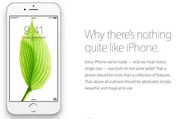 why there is quite nothing like iphone web screenshot 001 620x415 Perché non cè niente di simile ad un iPhone la nuova web campagna Apple
