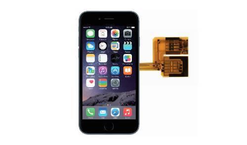 vavelieroiphone4 VaVeliero: Cover Triple Sim, 3 schede SIM su iPhone 6