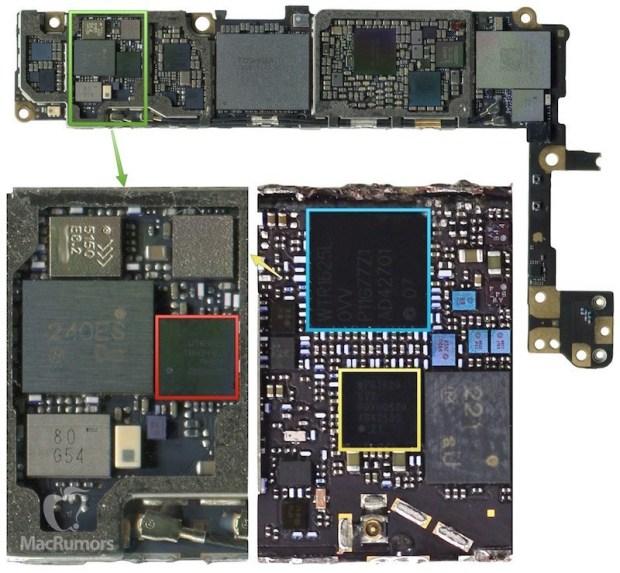 wtr3925 iphone 6s 620x573 iPhone 6S mostrato semi assemblato in un video