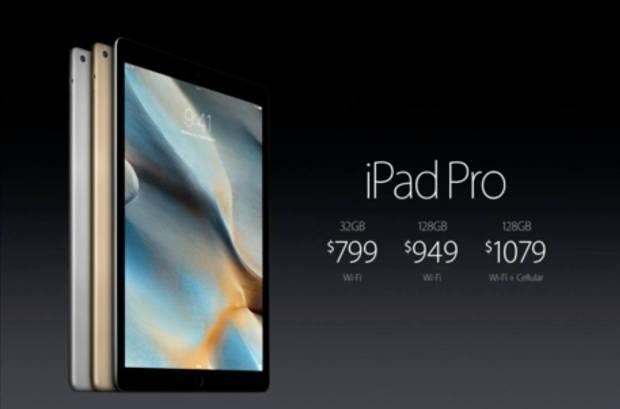 20150909105235 620x409 Apple annuncia iPad Pro
