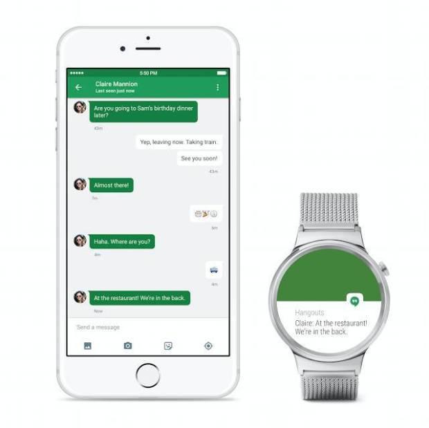 androidwearforios 620x619 Android Wear è adesso compatibile con iPhone