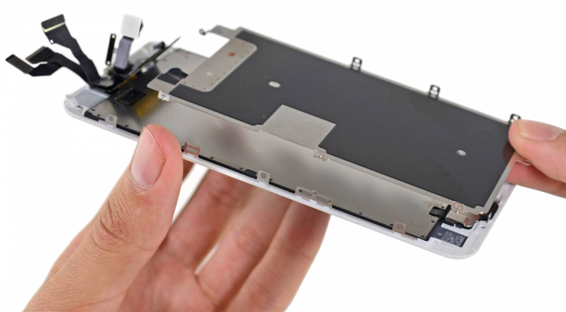 ifixit iphone 6s teardown image 002 3d touch Disponibile il teardown di iPhone 6s a cura di iFixit