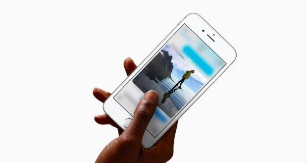 iphone 6s 3d touch 780x4141 780x414 620x329 Problemi di surriscaldamento per alcuni utenti con iPhone 6s