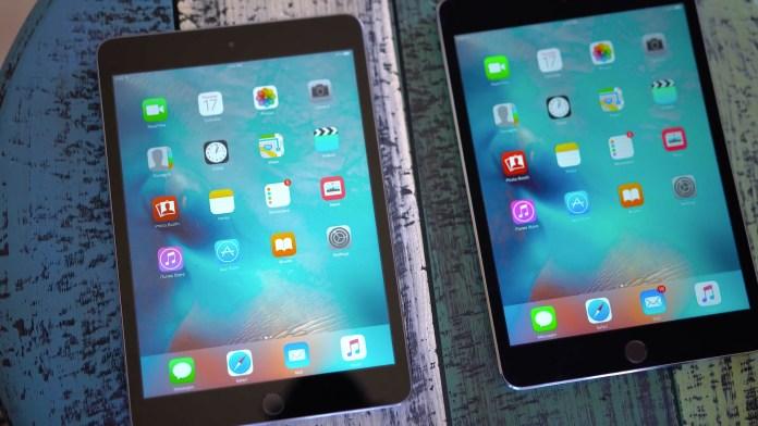 iPad Mini 4 contro iPad Mini 3