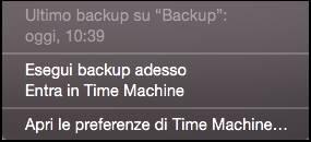 screenshot 2015 09 30 11.05.20 Come effettuare un backup con Time Machine