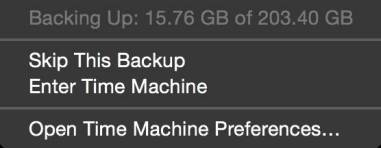 %name Come effettuare un backup con Time Machine