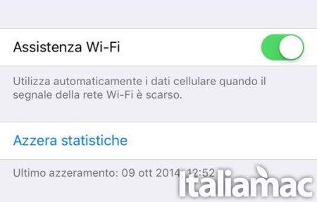 wi fi I vostri GB non bastano più con iOS 9? Ecco il perché