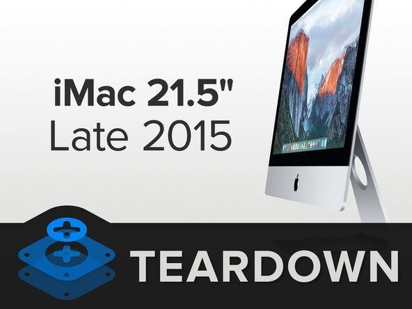 %name iFixit smonta lultimo modello di iMac 21.5, annunciato da Apple questa settimana