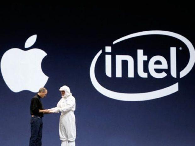 apple intel 620x466 Intel potrebbe essere in trattativa con Apple per i chip dei prossimi iPhone