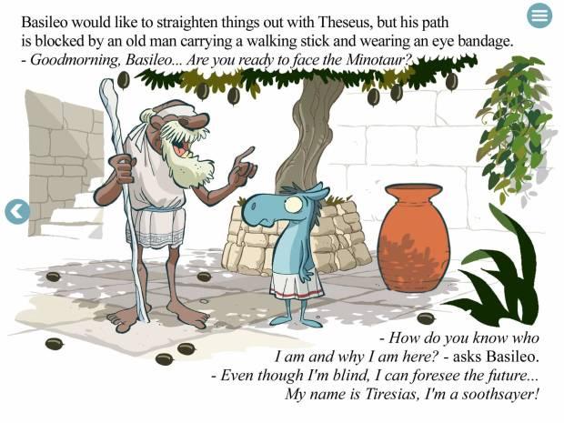 basileoimg2 620x465 Basileo, eBook interattivo sul mito greco per bambini