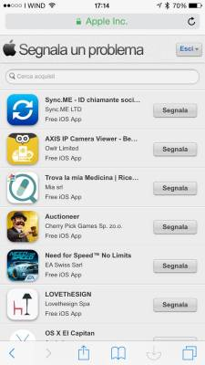 img 0790 Pessima app acquistata? Apple vi rimborsa, ecco come