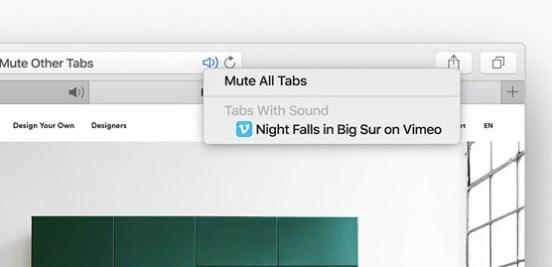 mute tab safari 10 nuove interessanti funzioni introdotte in OS X El Capitan