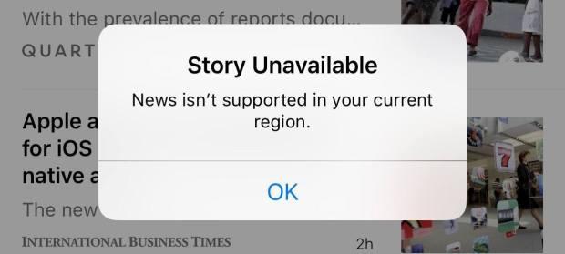 news feature 620x279 Apple disabilita lApp News in Cina