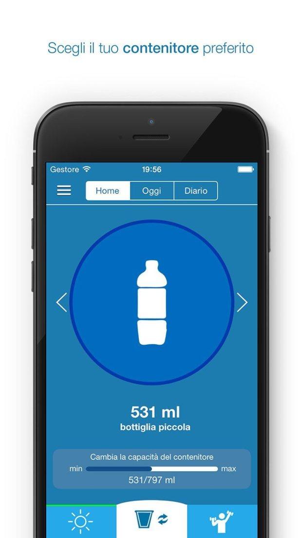 remembertodrinkios 1242x2208 it 1 620x1102 App che ti ricorda di bere la giusta quantità d'acqua: Remember to Drink