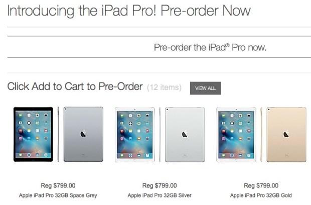 248956 620x408 Staples accetta pre ordini per iPad Pro con data di lancio fissata per il 25 Novembre