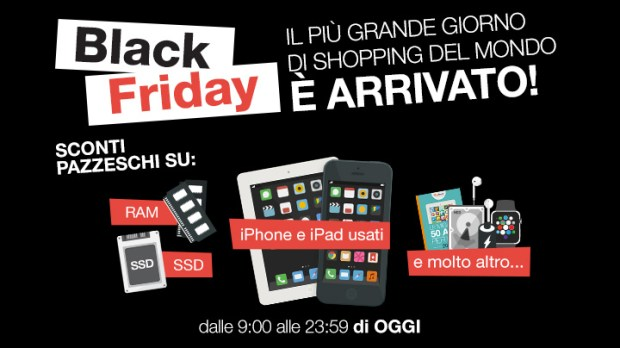 blackfriday buydifferent1 620x348 Black Friday BuyDifferent: oggi più di 1.500 articoli a prezzi scontati