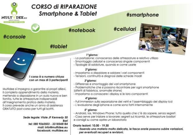 corso iphone 620x436 Multidee.eu, corsi per la riparazione di Smartphone, Tablet e Pc