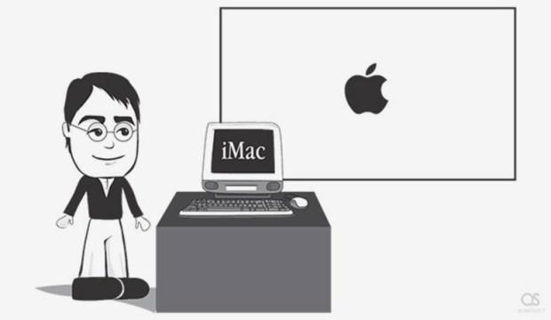 steve jobs cartoon001 780x453 620x360 Steve Jobs Tribute Cartoon: quando un cartone animato riassume una vita