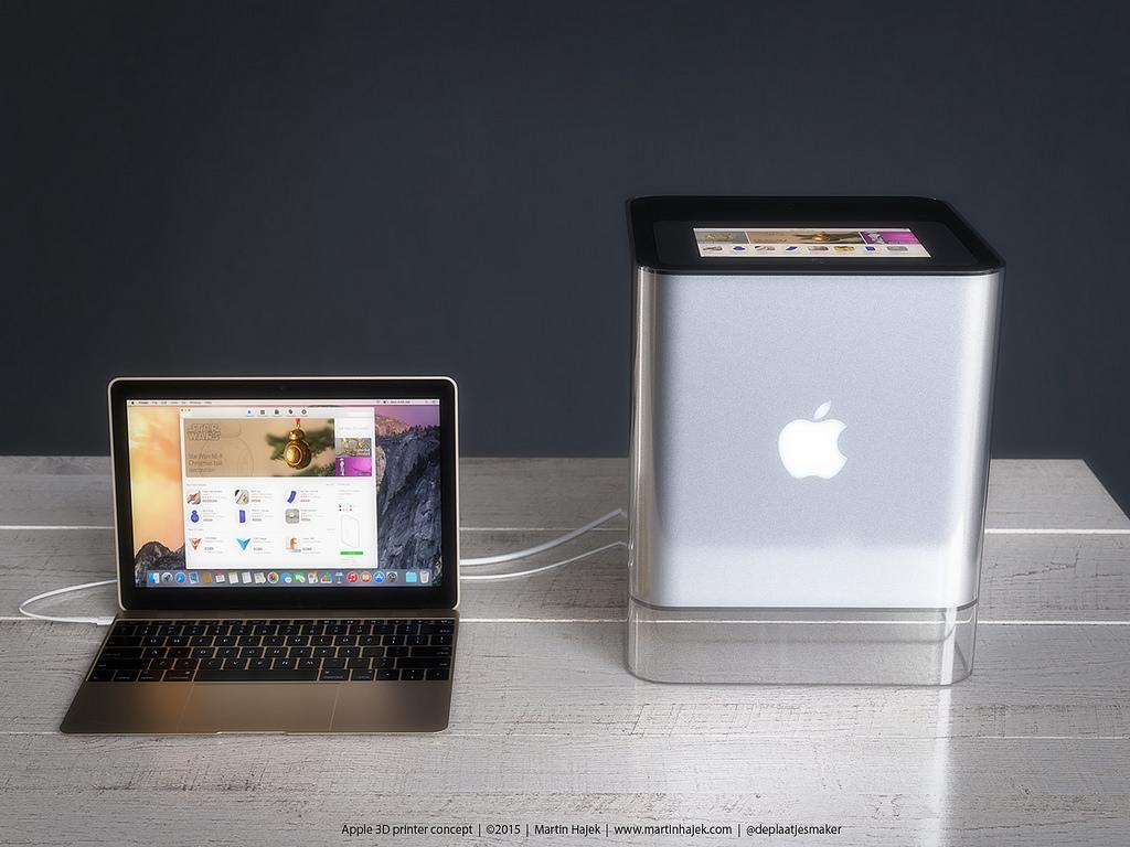 %name Realizzato concept per stampante 3D Apple