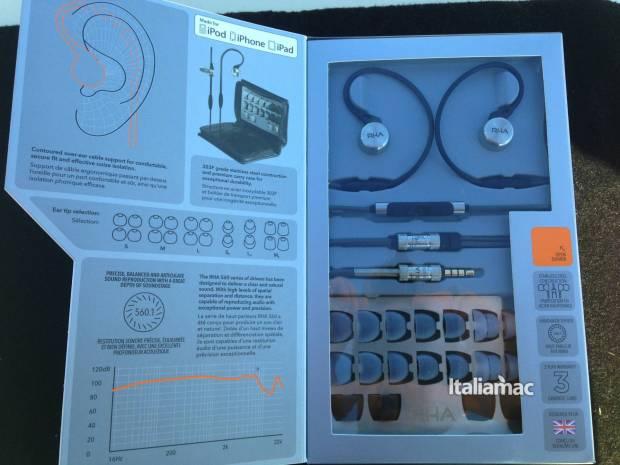 ma750i confezione 620x465 Con gli auricolari Rha MA750i è tutta unaltra musica