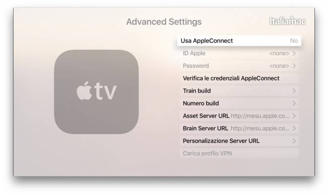 advanced settings apple tv 4 Come accedere al menù segreto Advanced Settings di Apple TV
