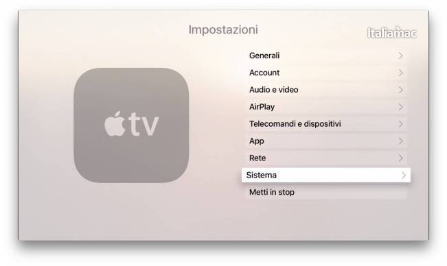 impostazioni apple tv 4 Come accedere al menù segreto Advanced Settings di Apple TV