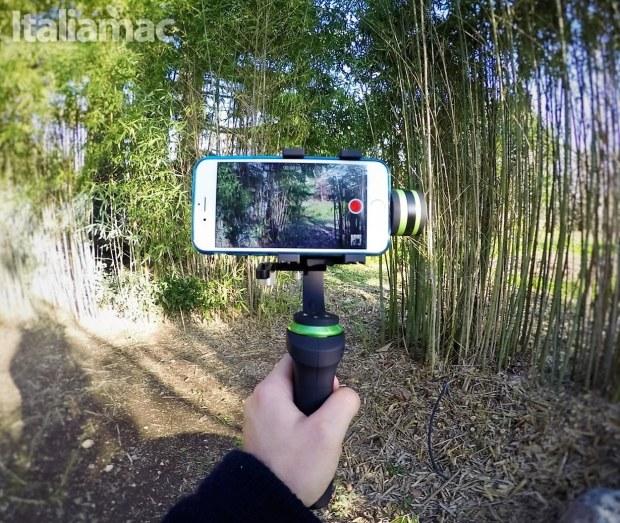 lanparte gimbal iphone Gimbal LanParte HHG 01: video perfettamente stabilizzati su iPhone e GoPro