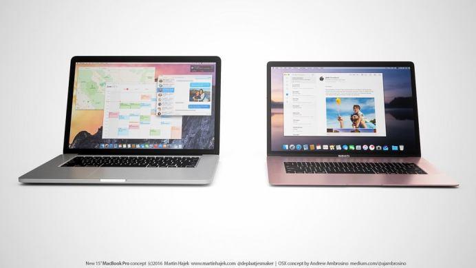 %name Ecco come potrebbero essere i prossimi MacBook Pro