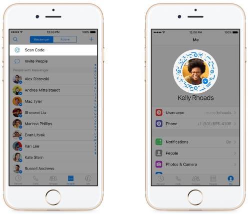 facebook messenger codes image 001 Facebook Messenger sorpassa i 900 milioni di utenti