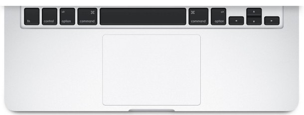 forcetouch trackpad macbook 610x232 Come regolare lintensità di pressione sul Trackpad per Mac