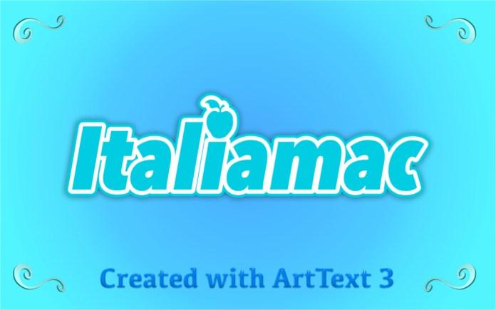 Italiamac ArtText 3