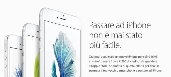 schermata 2016 05 27 alle 21.56.31 Permuta e passa ad iPhone arriva anche in Italia