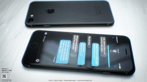 darkspacegrayiphone7 Sarà così iPhone 7 in Nero Siderale?