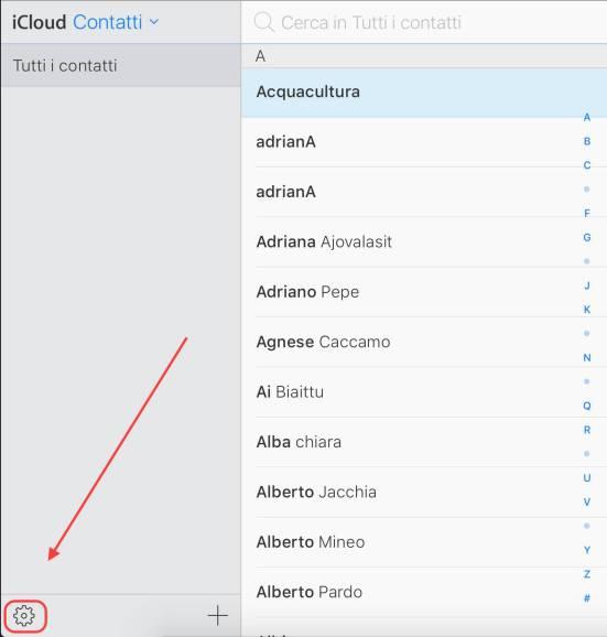 schermata 2016 07 04 alle 13.29.37 Come esportare la rubrica di iPhone in formato CSV