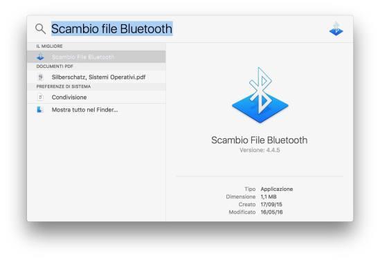 spotlight Come abilitare Bluetooth su Mac senza tastiera o mouse