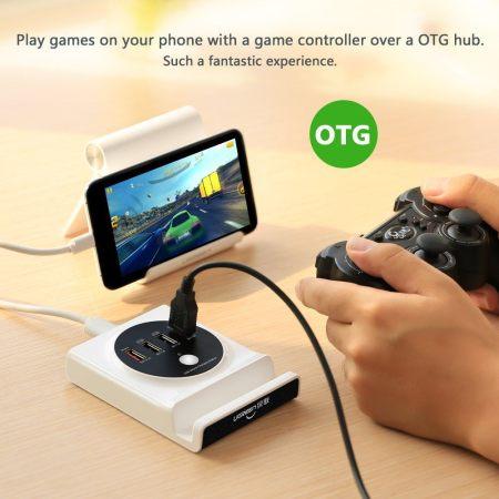 61y6xreaq2l. sl1001  Stazione di carica USB di Ugreen: caricare più dispositivi contemporaneamente non sarà più un problema